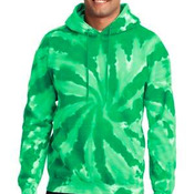 Essential Tie Dye Pullover Hooded Sweatshirt