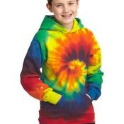 Youth Essential Tie Dye Pullover Hooded Sweatshirt
