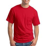Beefy T® 100% Cotton T Shirt with Pocket