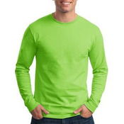 Tagless® 100% Cotton Long Sleeve T Shirt