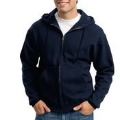 Super Sweats® Full Zip Hooded Sweatshirt
