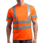 Ansi Class 3 Short Sleeve Snag Resistant Reflective T Shirt