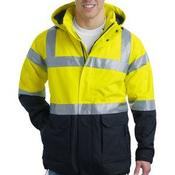 Ansi Class 3 Safety Heavyweight Parka