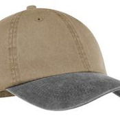 Two Tone Pigment Dyed Cap